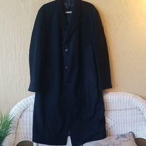 💣Ralph Lauren black top coat Sz.44L